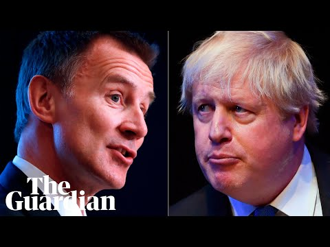 Jeremy Hunt and Boris Johnson speak at hustings in Birmingham - watch
