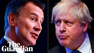 Jeremy Hunt and Boris Johnson speak at hustings in Birmingham - watch live