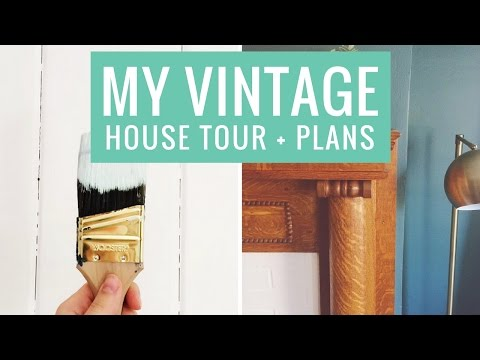 My Vintage Victorian House Tour and Renovation Plans!
