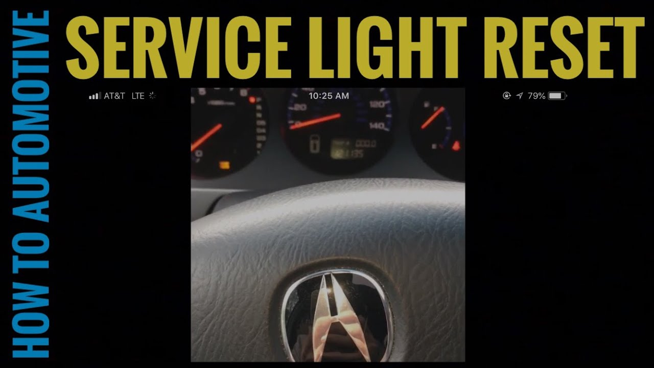 How To Reset The Service Light On A 2004 Acura Mdx Youtube 2003 Engine Diagrams Howtoautomotive Servicelight