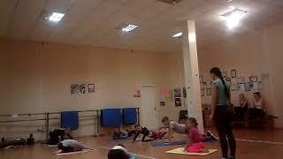 Strong spine – упражнения для детей направленные на укрепление спины