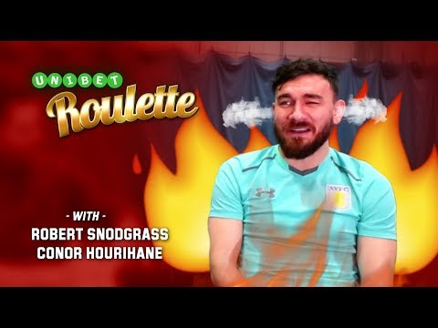 Aston Villa's Hourihane and Snodgrass take on the Roulette Challenge!