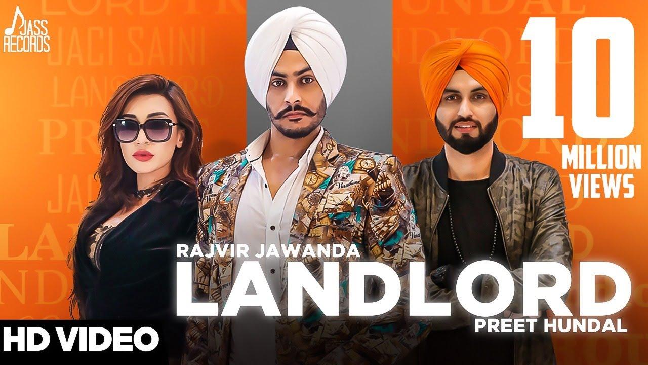 Download Landlord | ( Full HD) | Rajvir Jawanda Ft. Preet Hundal | New Punjabi Songs 2017