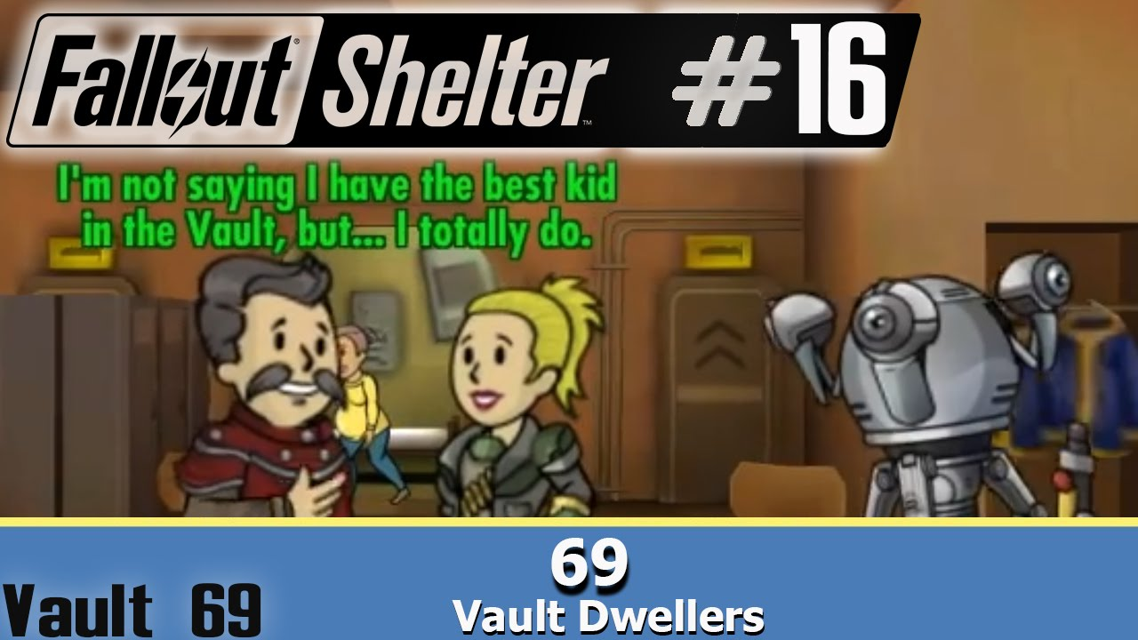 <b>69</b> in <b>Vault 69</b>~ Fallout Shelter Part Android <b>walkthrough</b> Part 16 ...