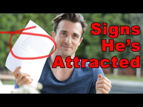 online dating how to tell if hes interested