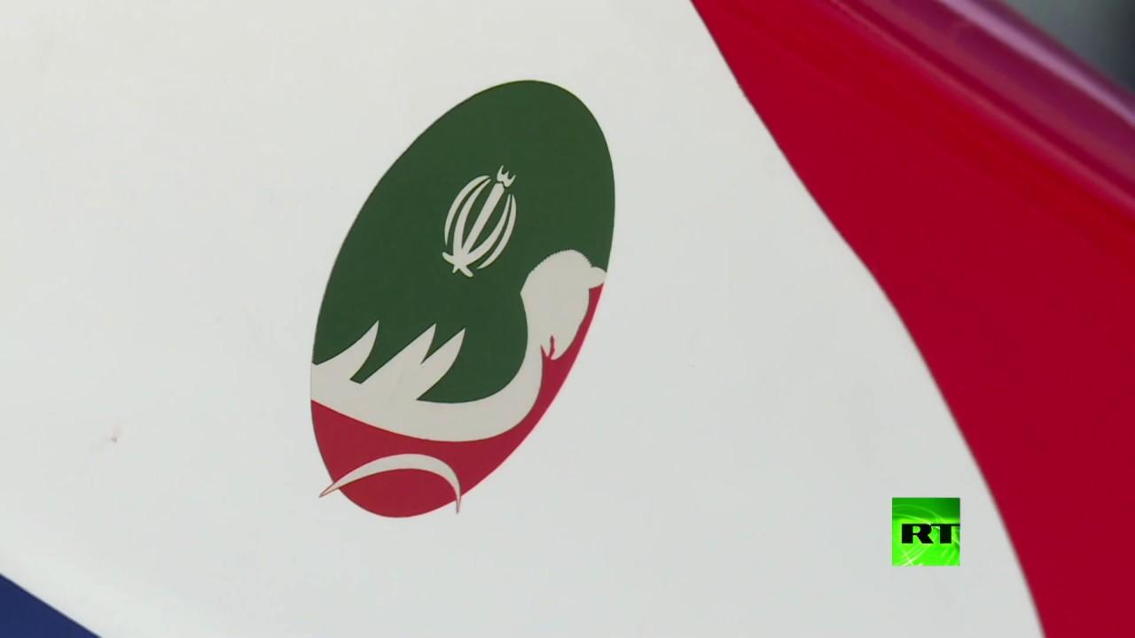 شاهد.. أحدث صاروخ كروز إيراني مجنح قادر على التخفي يعرض في
