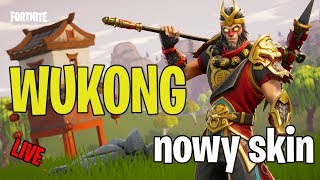 🔴 fortnite-New Skin WuKong! -Monkey in action