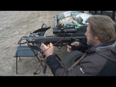 How to Sight In your CrossBow for a Tighter Shot Grouping