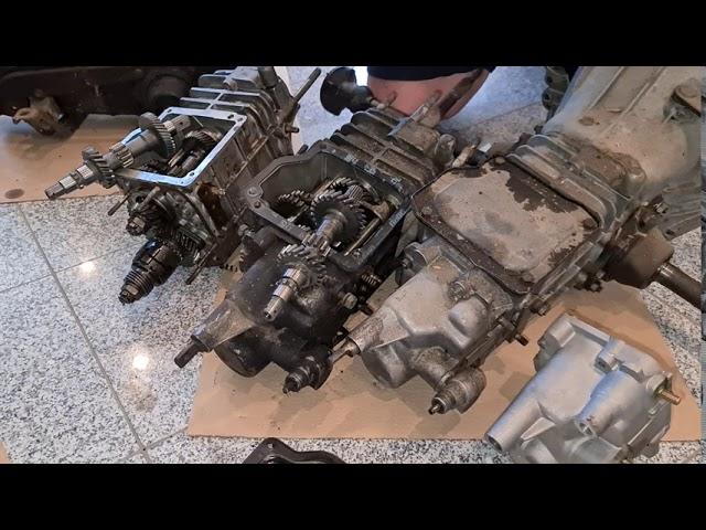 Wie erkenne ich ein Fiat 500 F (Puch 500 S) und Fiat 126 Getriebe?