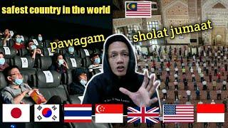 UNITED KINGDOM NOBATKAN MALAYSIA NEGARA PALING AMAN DAN RENDAH RESIKO COVID19