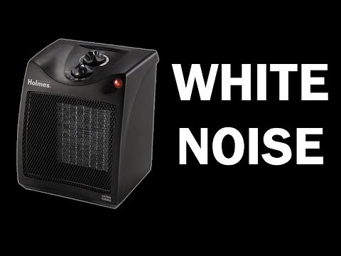 Space Heater White Noise, ASMR 10 hours, relaxing video, sle