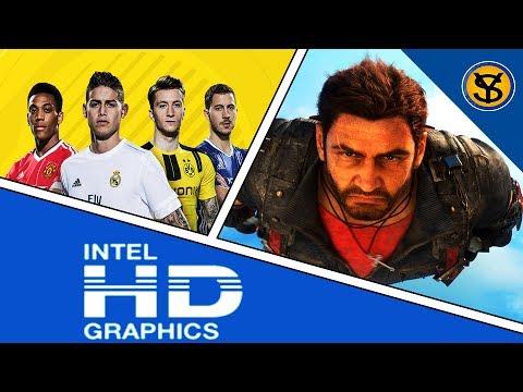 rendimiento de juegos modernos en intel hd graphics