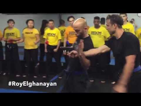 Roy Elghanayan - 3 Second Krav Maga Gun Defense / Offense