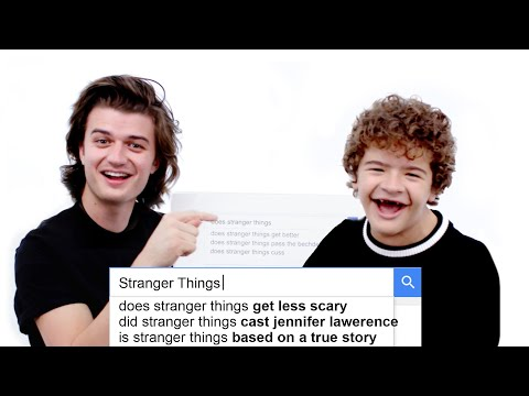 Thumbnail: Stranger Things Cast Answer the Web's Most Searched Questions | WIRED