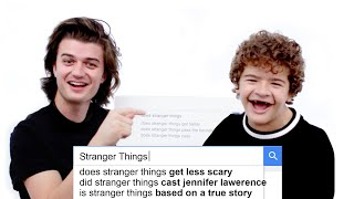 Download Stranger Things Cast Answer the Web's Most Searched Questions | WIRED Mp3 and Videos