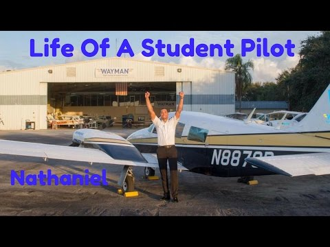 Life Of A Student Pilot - Nathaniel From Barbados