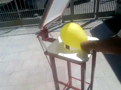 Serigrafia maquina para estampar globos a palanca youtube - Estampar camisetas en casa ...