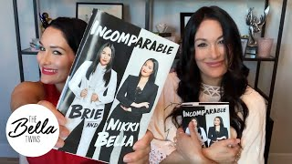"The Bella Twins' book ""INCOMPARABLE"" is out TOMORROW!"