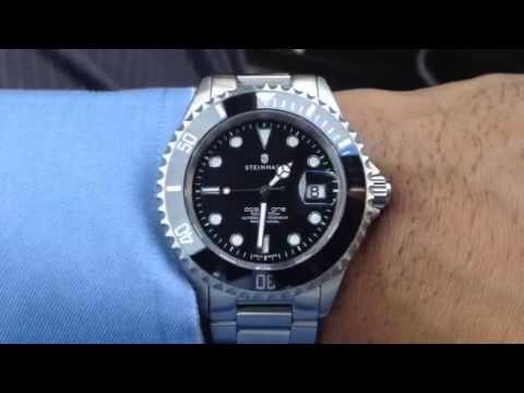 Steinhart Ocean 1 Ordering Metal Vs Ceramic Youtube