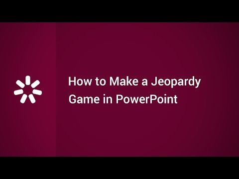 How to Make a Jeopardy Game in PowerPoint - YouTube