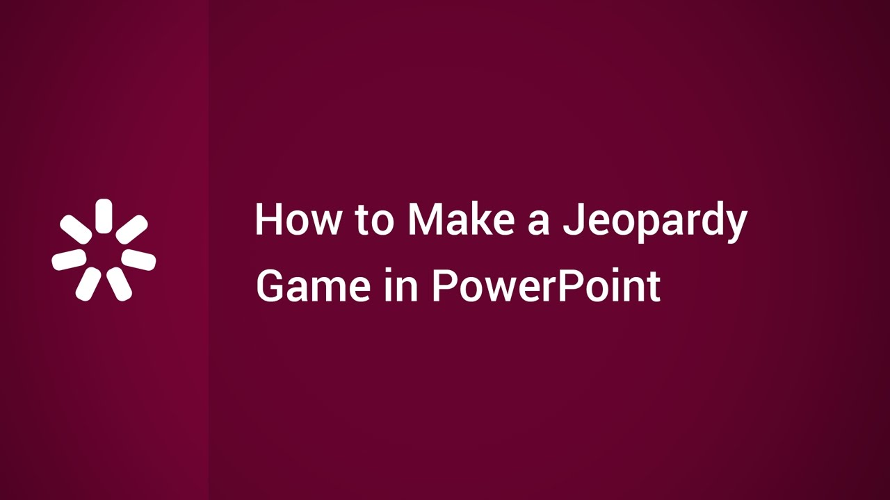 how to make a jeopardy game in powerpoint youtube