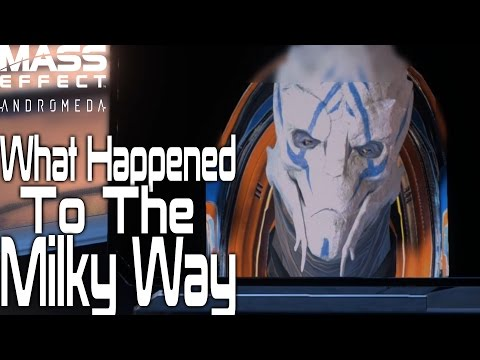 What Happened To The Milky Way | Mass Effect Andromeda |