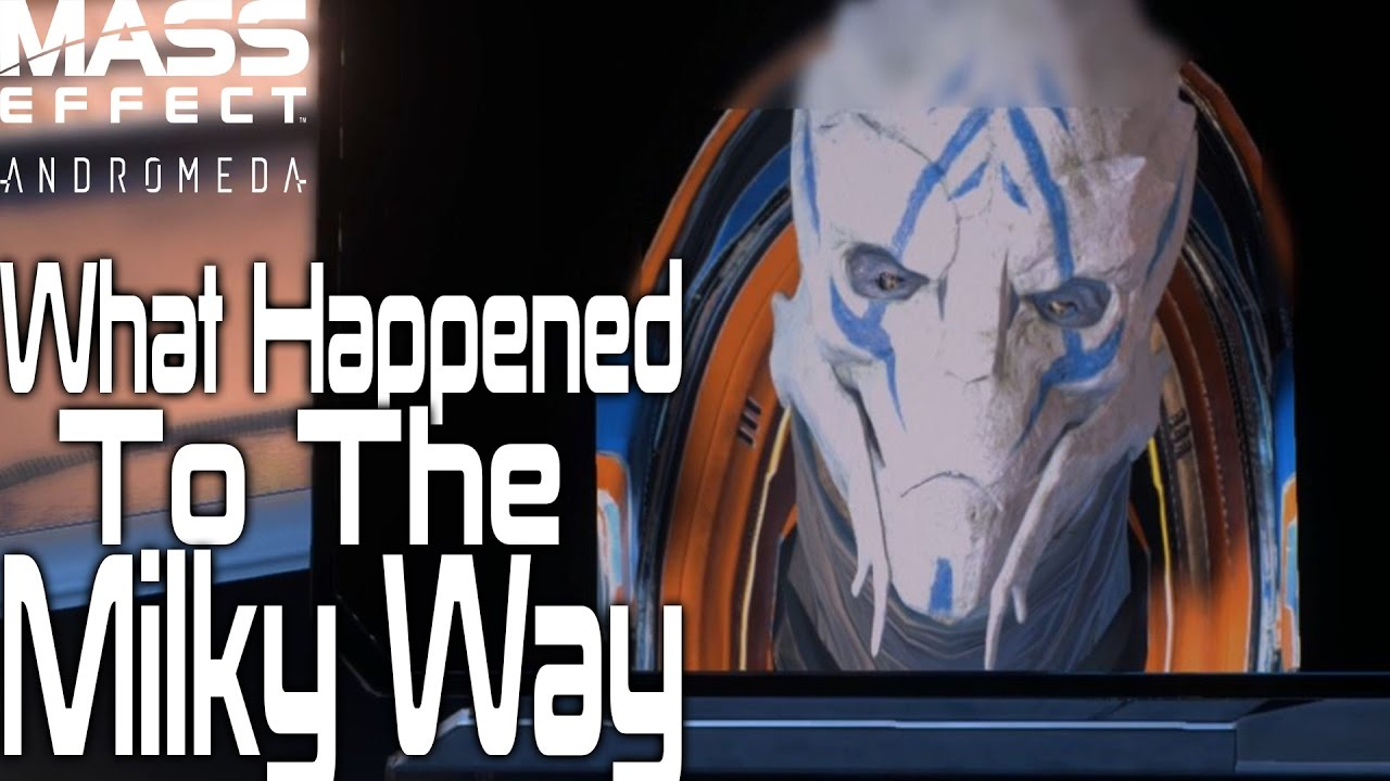 What Happened To The Milky Way | Mass Effect Andromeda