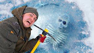 Эти опасные и жуткие находки мы нашли во льдах замерзшей реки