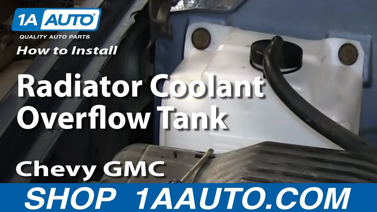 how to replace radiator overflow tank 95 99 chevy tahoe 1a auto how to replace radiator overflow tank 95 99 chevy tahoe