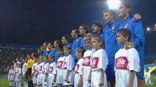 Highlights: Italia-Bielorussia 4-3 (13 ottobre 2004)
