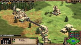 Age of Empires 2: Definitive Edition - 3v3 RM Persian Mediterranean WONDER - eartahhj - 20/11/2019