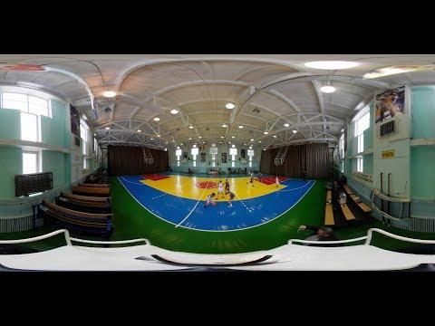 Moldova Basketball Junior League -14 : Admirals vs Basarabca (360° Video)