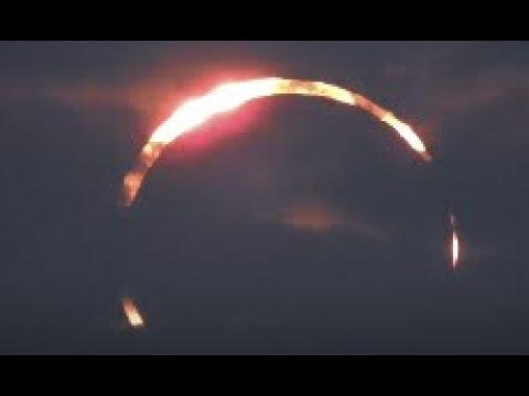 Annular Eclipse in Doha (Al Wakrah) Qatar  12/26/2019
