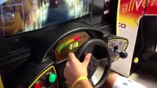 CART Fury Sit Down Racing Game from Michigan Arcade Games