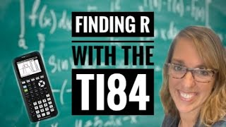 Linear Correlation Coefficient with the TI-84