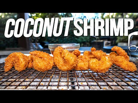 CRISPY COCONUT SHRIMP | SAM THE COOKING GUY 4K