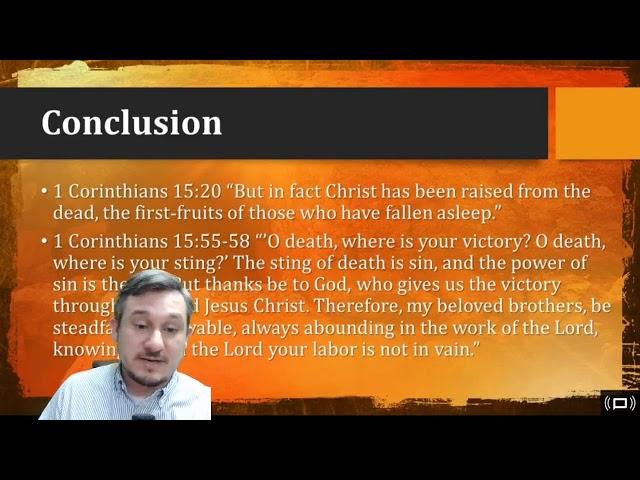 Defending the Resurrection (Part 3) - Mt. Carmel Demorest