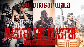 Master - Master the Blaster Lyric | Thalapathy madhu | AnirudhRavichander | LokeshKanagaraj