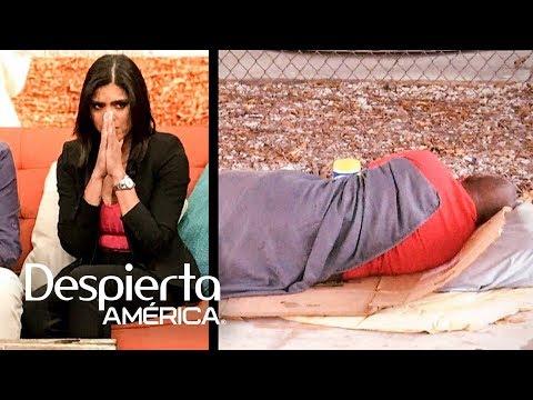 Francisca queda muy afectada tras ver de cerca la realidad de los indigentes