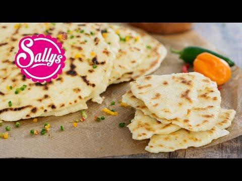 indisches Naan Brot / Pfannen-Brot / Sallys Welt