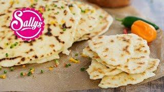 indisches Naan Brot / Pfannen-Brot