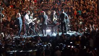 Coldplay & James Corden Tom Petty 'Free Fallin' in Concert Rosebowl 10-6-17 LA CA