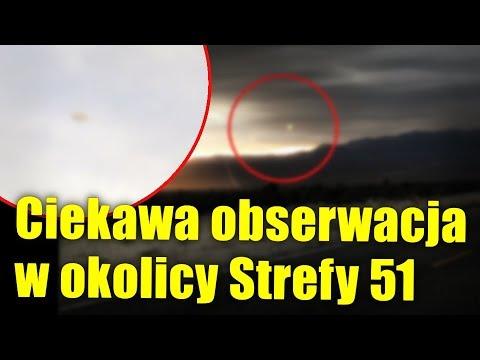 Amerykański fotograf uchwycił kilka obiektów UFO nad Strefą 51