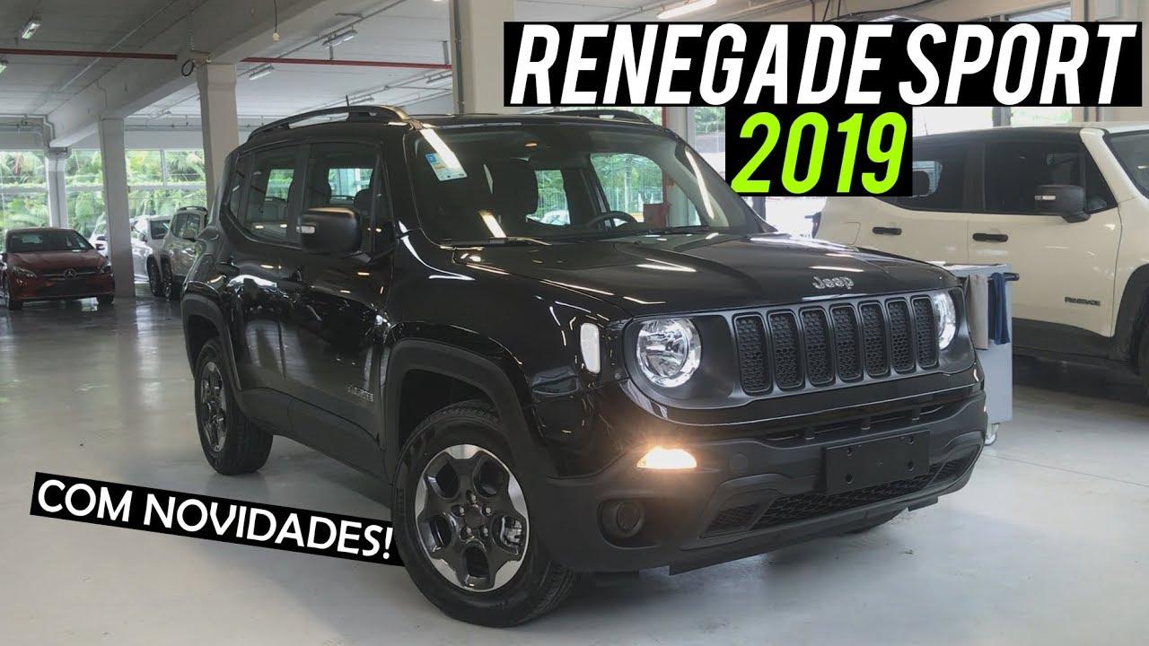 Jeep Renegade 2018 >> Avaliação | Novo Jeep Renegade Sport 1.8 2019 | Curiosidade Automotiva® - YouTube