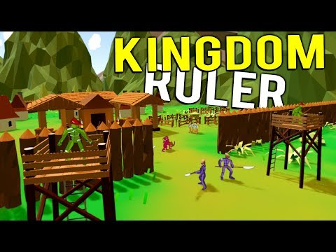 BUILDING A KINGDOM AS KING OF THE WORLD! - NEW No King No Kingdom Early Access Gameplay