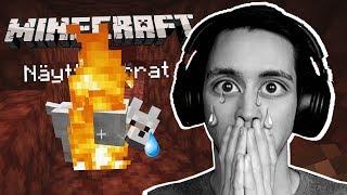 Tein ISON VIRHEEN Minecraftissa!