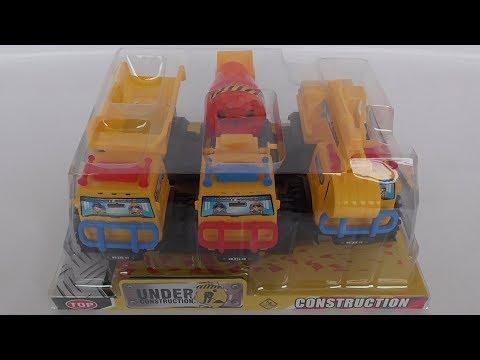 Truck Combination ของเล่นเด็กชุดรถก่อสร้าง