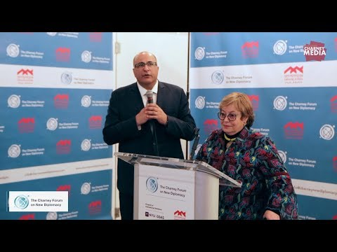 Ido Aharoni Remarks and Margery Klaus Keynote | The Rise of New Diplomacy Opening Reception