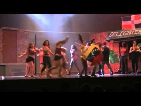 """South Broward High School drama production In the Heights 2014 """"Carnaval del Barrio"""""""