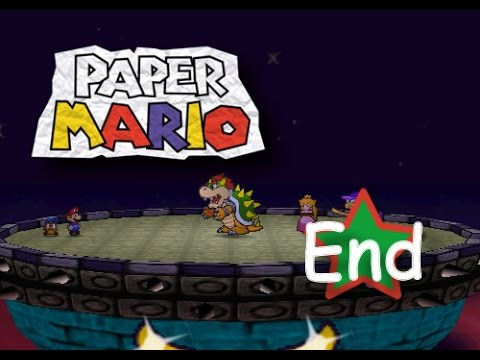 Paper Mario - Last Chapter - Bowser Castle - (Finale & Ending) - (N64/Wii)